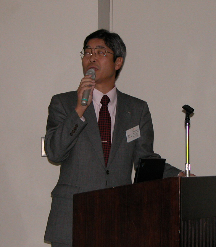 山本 誠一 氏 活動   IEEE関西支部 HOME活動総会 2004年総会 総会講演会 200